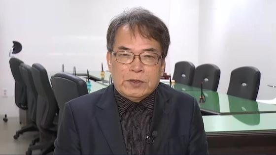 조정진씨가 지난 5월 JTBC와 인터뷰를 하던 모습. [중앙포토]