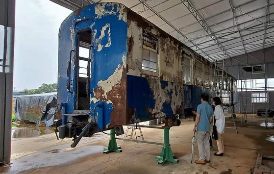 인천 문화유산 어디까지 가봤니? 수인선 협궤열차, 시립박물관에 전시