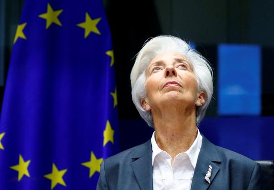 크리스틴 라가르드 유럽중앙은행 총재(ECB). 연합뉴스