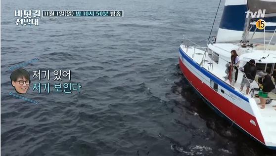 tvN '바닷길 원정대' [사진 CJ ENM]