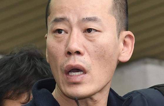 29일 대법원에서 무기징역이 확정된 방화살인 사건 피의자 안인득. 송봉근 기자