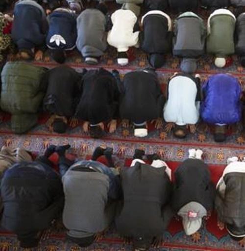 무슬림의 라마단 예배. EPA=연합뉴스