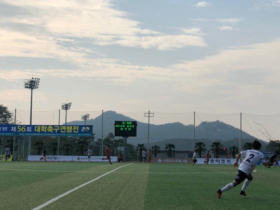 제56회 대학축구연맹전 4강. 한국대학축구연맹 제공