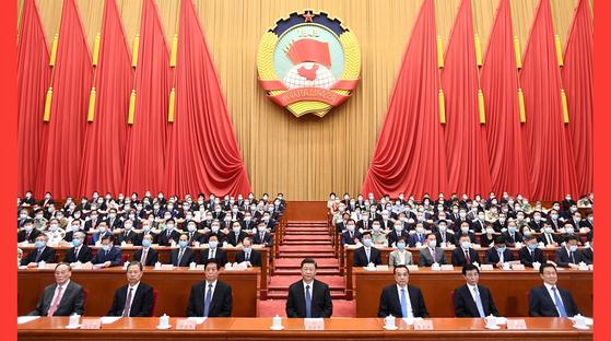 중국, 5년내 제조·품질·인터넷·디지털 등 4대 강국 건설…성장률 목표 제시 안해