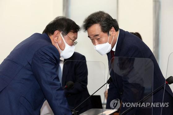 서울·부산시장 후보 내려고…5년전 文이 만든 당헌 뒤집는 與
