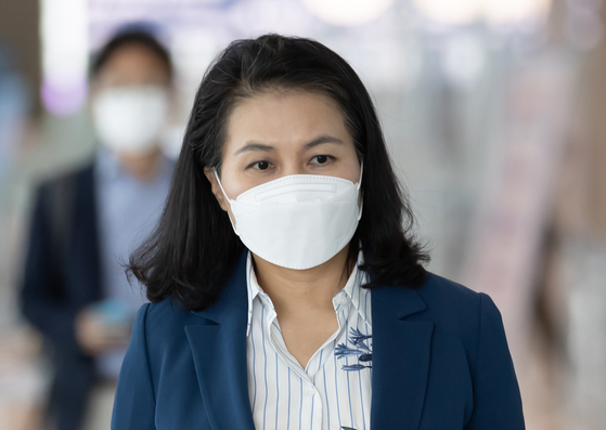 첫 한국인 세계무역기구(WTO) 사무총장에 도전한 유명희 통상교섭본부장. 연합뉴스
