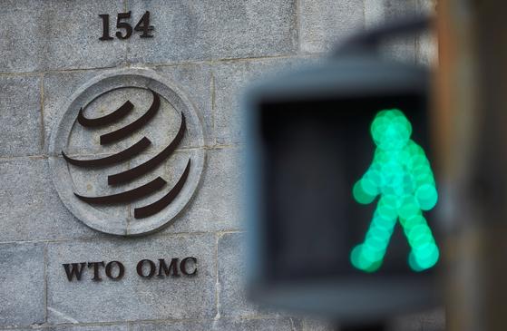 스위스 제네바의 세계무역기구(WTO) 전경. [로이터=연합뉴스]
