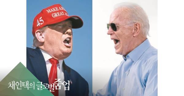 """""""경제 좋으면 재선 실패 없다"""" 美대선 공식, 트럼프도 통할까"""