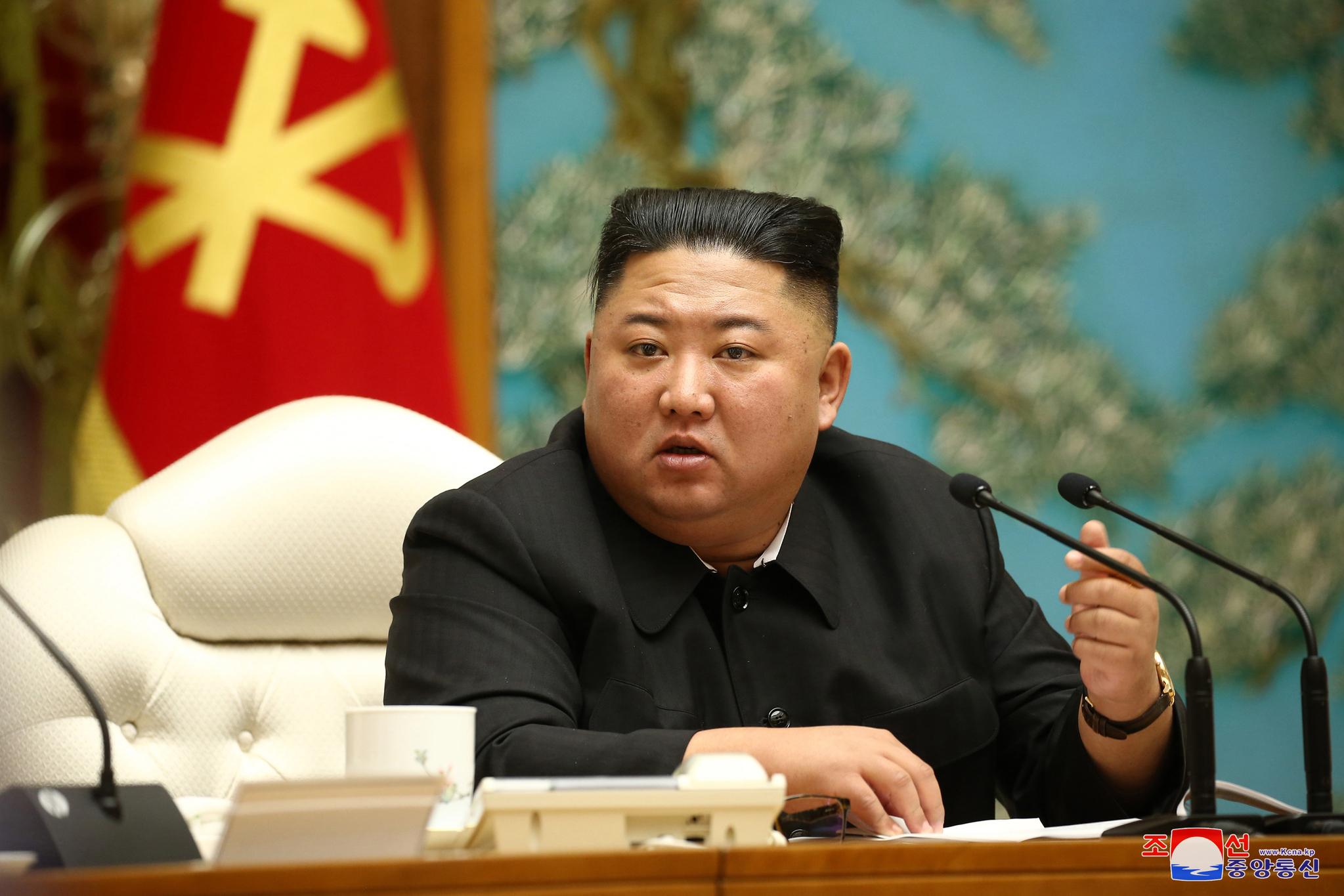 북한 김정은 위원장. 연합뉴스