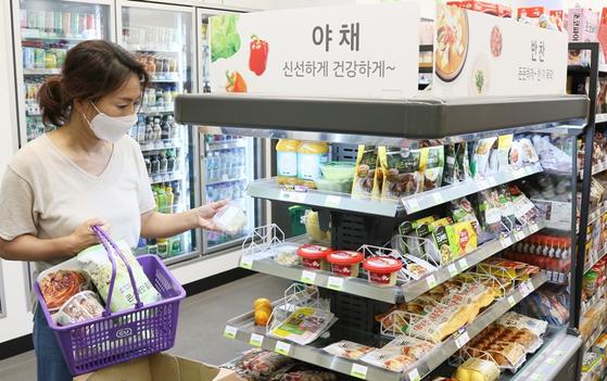 최근 편의점에서 신선식품을 구매하는 소비자가 늘고 있다. 사진 BGF리테일