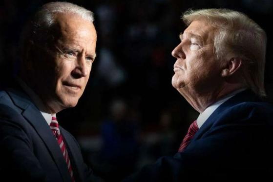도널드 트럼프 미국 대통령의 재선 성공이냐 아니면 조 바이든 민주당 후보가 새로운 미국 대통령이 될 것인가를 결정할 미 대선에 세계의 관심이 집중되고 있다. [중국 환구망 캡처]