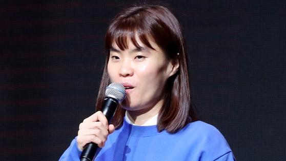 개그맨 박지선 씨가 2일 오후 서울 마포구 자택에서 모친과 함께 숨진 채 발견됐다. 연합뉴스.