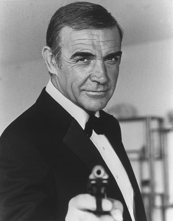 숀 코너리의 마지막 007 시리즈 '007 네버 세이 네버 어게인'(1983). [AP=연합뉴스]
