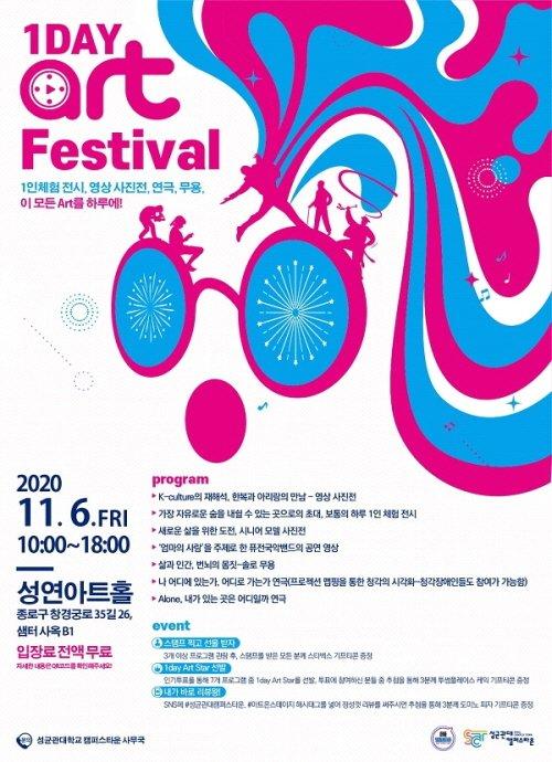 성균관대 캠퍼스타운 사업단, 문화ㆍ예술창업팀 성과발표회 '원데이 아트 페스티벌' 개최