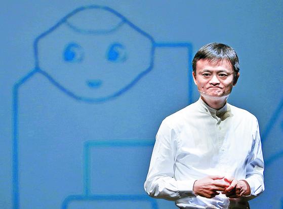 마윈 알리바바 창업자. 앤트그룹의 실질적 경영권을 쥐고 있다.  로이터=연합뉴스