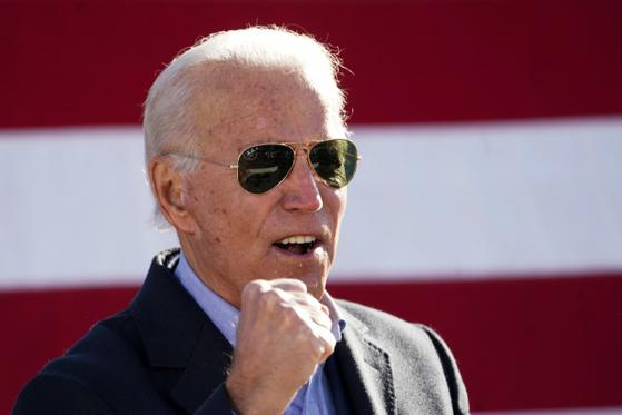 조 바이든 미 민주당 후보. [로이터=연합뉴스]