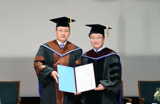 김상열 호반 회장, 전남대서 명예박사