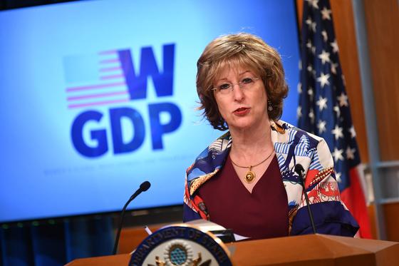 백악관은 6일 보니 글릭 국제개발처(USAID) 부처장을 전격 해임했다. AFP=연합뉴스