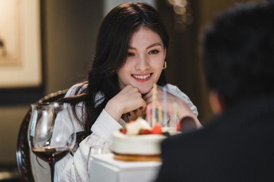 드라마 '구미호뎐'에서 러시아산 여우 기유리를 맡은 김용지. [사진 tvN]
