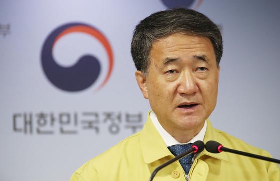 박능후 보건복지부 장관. 연합뉴스