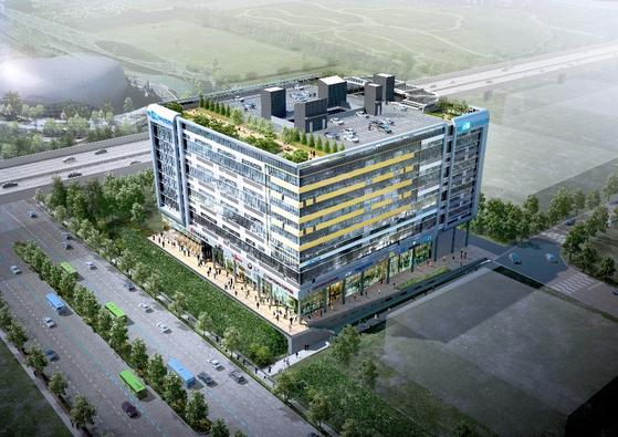 인천 계양 산업단지에 지식산업센터 근린생활시설