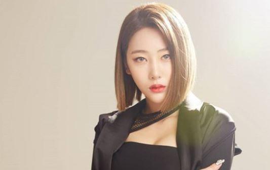 걸그룹 '블랙스완' 전 멤버 혜미. [사진 디알뮤직]