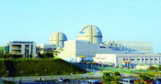 울산시 울주군 새울원전본부에 위치한 신고리 3,4호기. 사진 한국수력원자력