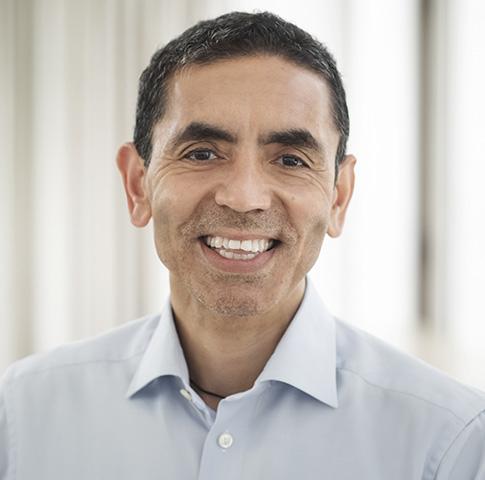 화이자와 코로나19 백신을 공동 개발 중인 독일 바이오엔테크의 CEO 우구르 사힌. [바이오엔테크 홈페이지]