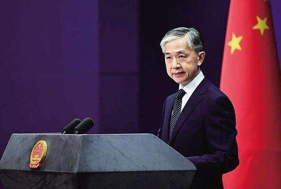 왕원빈 중국 외교부 대변인은 13일 바이든 당선인에 처음으로 공식 축하 입장을 밝혔다. [바이두 캡쳐]