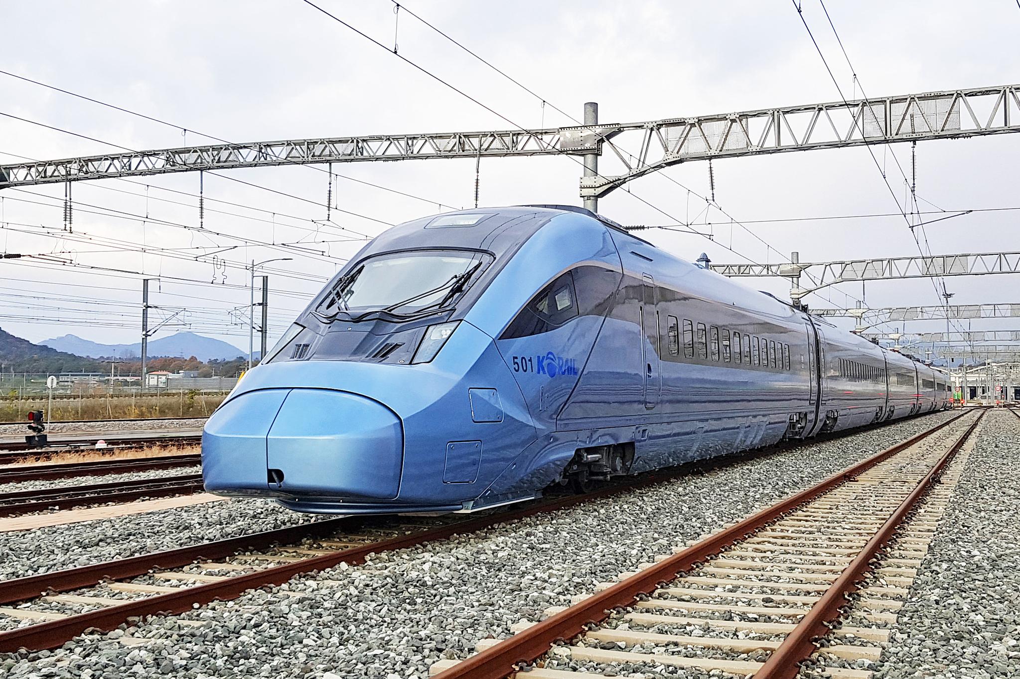 의정부까지 운행할 고속철은 EMU-320이다. 사진은 6량 1편성의 EMU-260. [사진 현대로템]