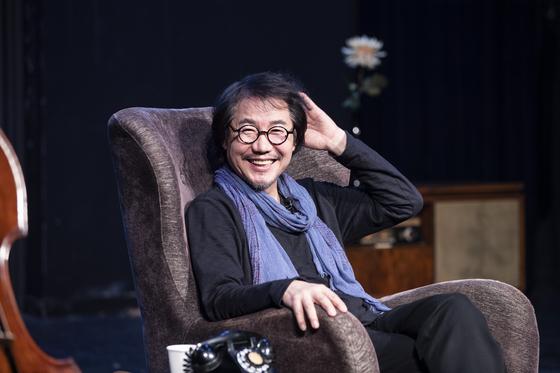 연기 경력 40여년 만에 처음으로 1인 연극에 도전하고 있는 배우 박상원. 권혁재 사진전문기자