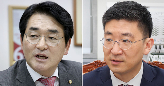 박용진 더불어민주당 의원(왼쪽)과 김세연 전 자유한국당(국민의힘 전신) 의원. 중앙포토