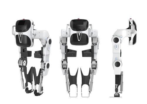 '2020 사이배슬론 국제대회'에 KAIST팀 선수들이 착용한 '워크 온 슈트 4'. [KAIST 제공]