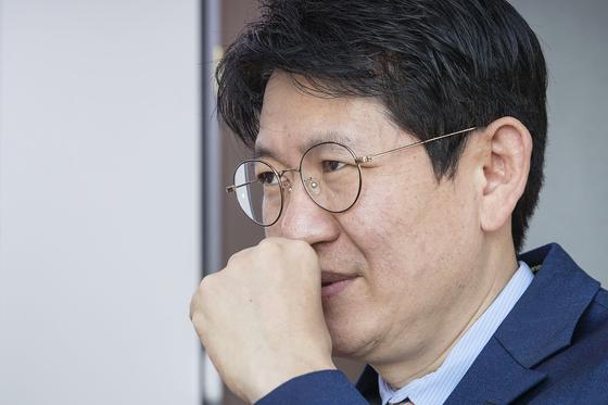 강성부 KCGI 대표가 중앙일보와 인터뷰하고 있다. 장진영 기자