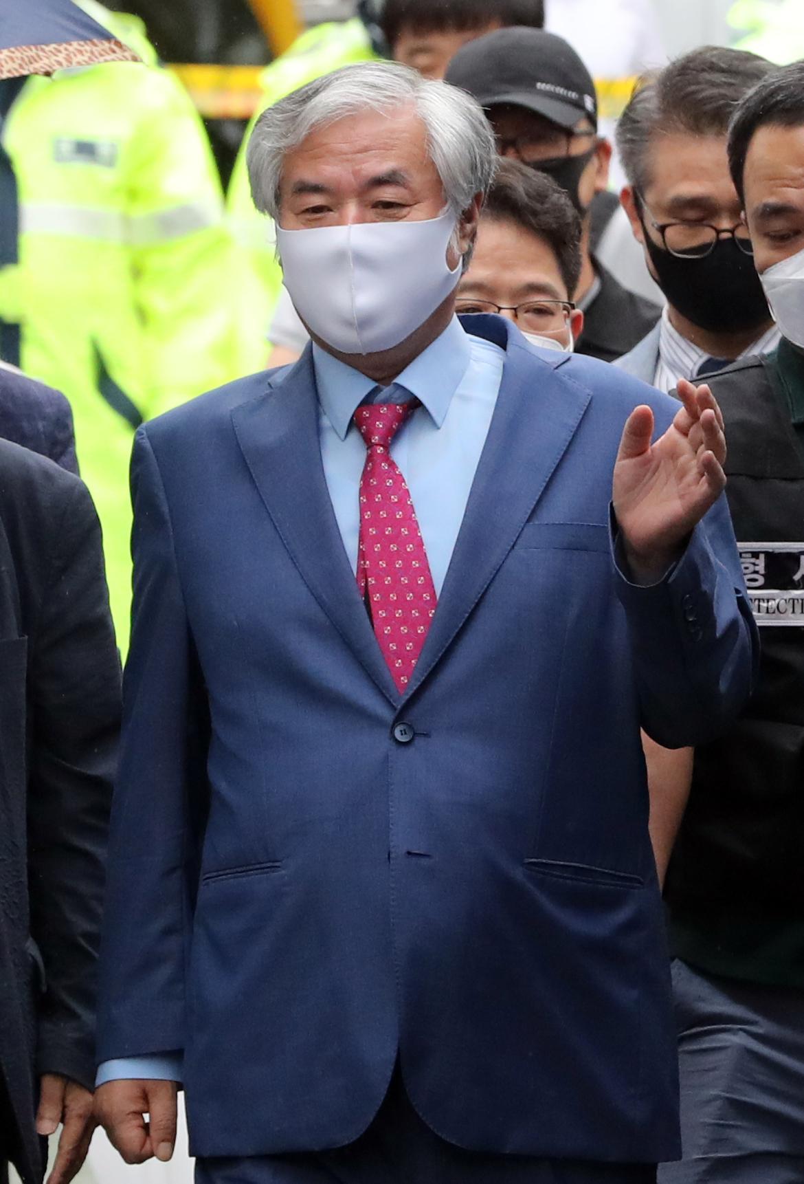 사랑제일교회 전광훈 목사. 연합뉴스
