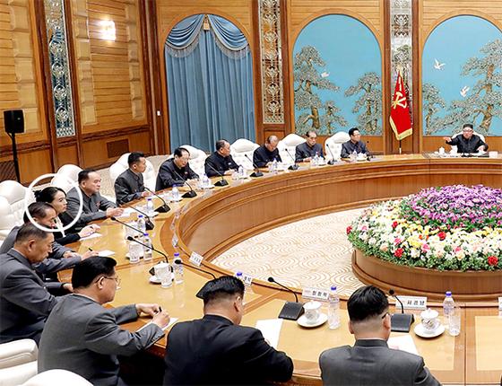 김정은, 정치국 확대회의 주재