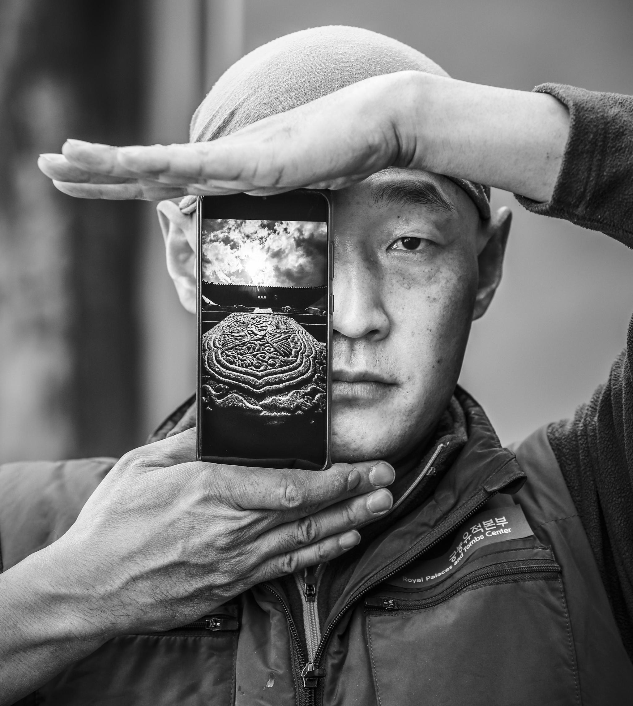 권혁재의 사람사진/ 정명식 대목수