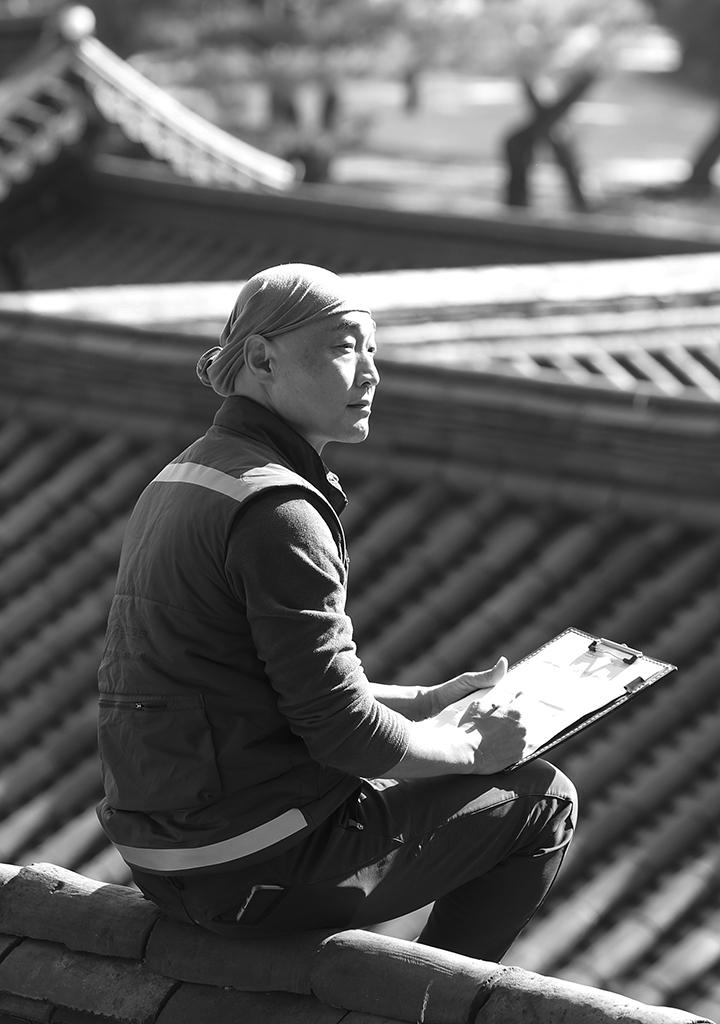 [권혁재의 사람사진] 카메라를 든 궁궐 대목수 정명식