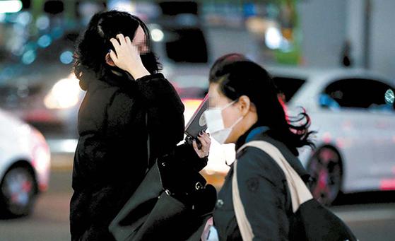 비 그치니 추위, 서울 체감온도 영하권