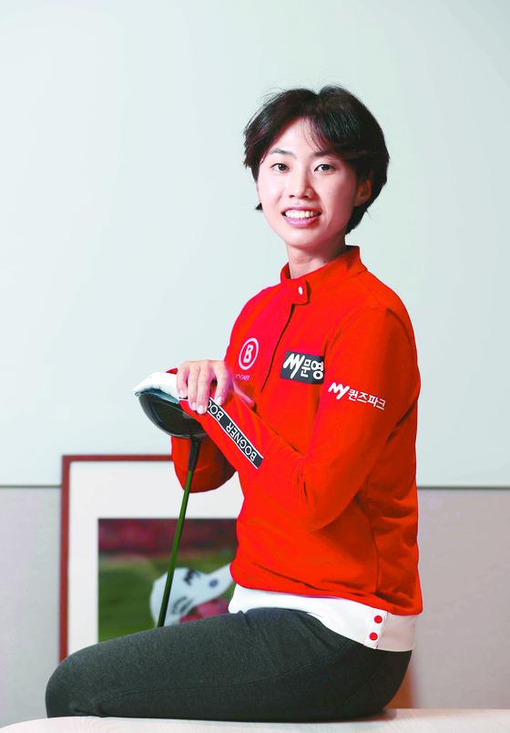 20대 중반의 늦은 나이에 만개한 안나린. 김상선 기자