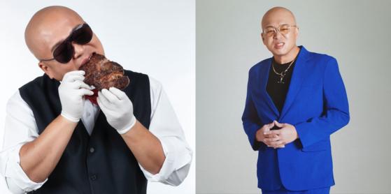 다이어트 성공한 작곡가 돈 스파이크. 왼쪽은 다이어트 전, 오른쪽은 최근의 모습이다. 사진 인스타그램