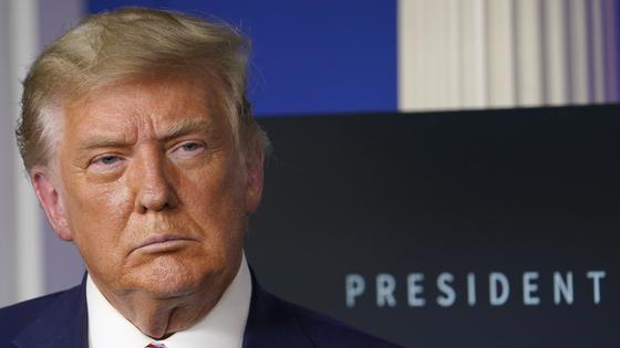 도널드 트럼프 대통령이 2024년 대권에 재도전할 가능성이 있다는 워싱턴포스트의 보도가 나왔다. [AP=연합뉴스]