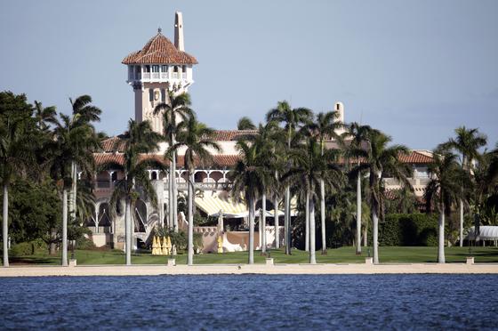 사진은 2016년 촬영된 플로리다주에 있는 마러라고 리조트의 모습. 도널드 트럼프 대통령이 소유하고 있다. [AP=연합뉴스]