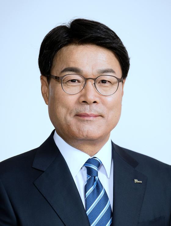 최정우 포스코 회장. 사진 포스코
