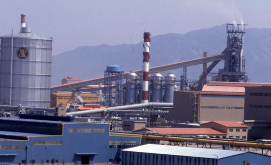 포스코 광양제철소 전경. 중앙포토