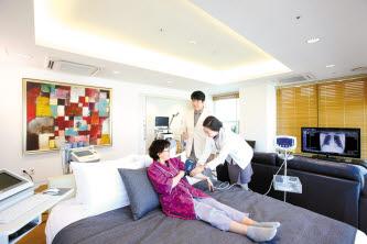 강북삼성병원은 국내 최대 규모의 검진센터로 한국인의 건강검진 표준을 제시하고 있다.