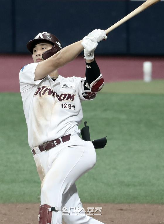 포스팅으로 MLB 진출을 노리는 김하성. 최근 미 매체들은 김하성의 행선지로 디트로이트 타이거즈를 언급했다. IS포토