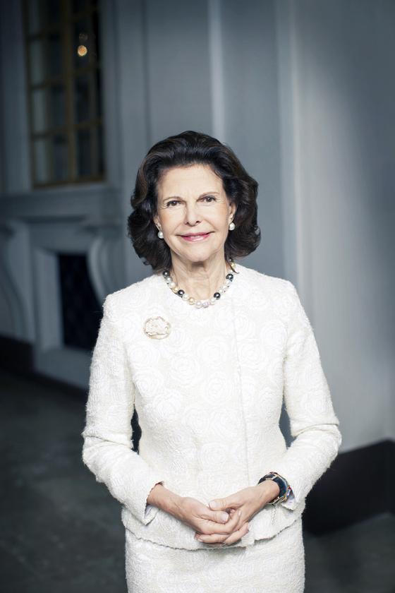 실비아 스웨덴 왕비. [사진 스웨덴 왕실]