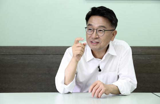 이철희 전 더불어민주당 의원. 임현동 기자