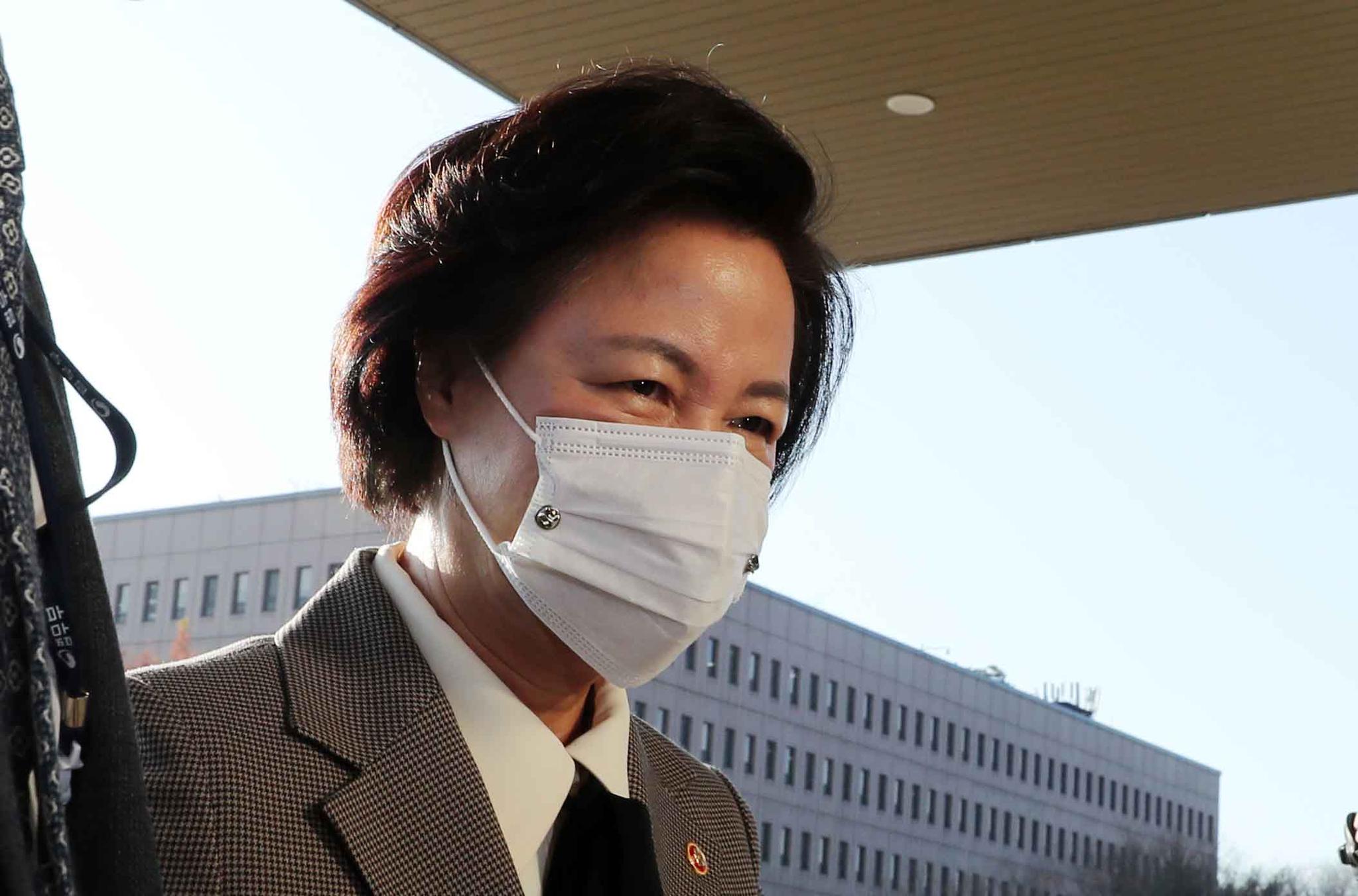 추미애 법무부 장관. 김상선 기자